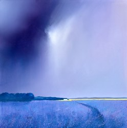Calm Before the Storm by Barry Hilton -  sized 24x24 inches. Available from Whitewall Galleries